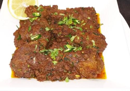 Beef hara dhaniya